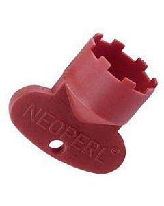 Neoperl Cache Serviceschlüssel 09915146 JR+SLIM AIR, M 21,5x1, rot, zur Strahlreglermontage