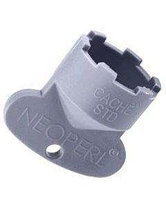 Neoperl Cache Serviceschlüssel 09915246 STD/M 24x1, grau, zur Strahlreglermontage