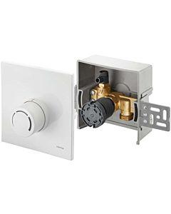 Oventrop Unibox Rücklauftemperaturregelung 1022735 weiß, mit Ventil und Thermostat