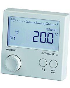 Oventrop R Tronic RT B Funk-Raumbediengerät 1150680 AP, mit bidirektionaler Funkkommunikation, weiß