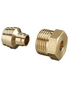 Messing-Klemmringverschraubung 8mm 2127651 für Einstrangfilter und Flexo-Block