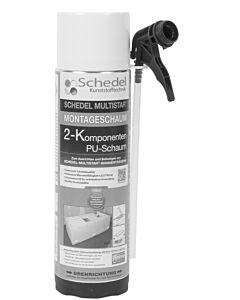 Schedel Multistar 2-K-Montageschaum SH30070 400 ml