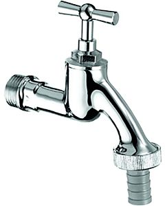 Schell outlet valve 034050699 chrome, upper part with toggle handle
