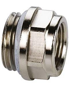 Bouchon réducteur KSB F10705 standard, laiton nickelé, G 2000 / 2 MxG 3/8 F