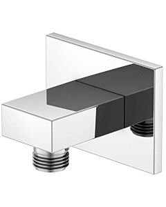 Steinberg Serie 135 wall connection bend 1351660 chrome, DN 15, intrinsically safe against backflow