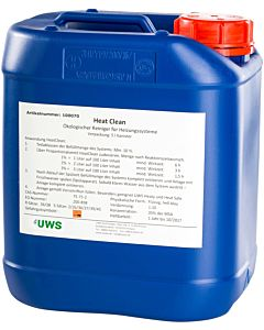 UWS Heat Reiniger 100070 5 l Kanister, sauer, für Kalkrückstände
