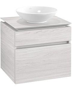 Villeroy & Boch Legato vanity unit B56800E8 60x55x50cm, White Wood