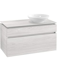 Villeroy & Boch Legato vanity unit B57600E8 100x55x50cm, White Wood