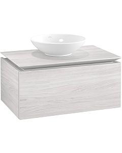 Villeroy & Boch Legato Waschtischunterschrank B60100E8 80x38x50cm, White Wood