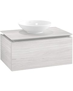 Villeroy & Boch Legato vanity unit B60100E8 80x38x50cm, White Wood