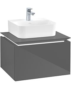 Villeroy & Boch Legato Villeroy & Boch Legato B731L0FP 60x38x50cm, with LED lighting, Glossy Grey