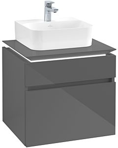 Villeroy & Boch Legato Villeroy & Boch Legato B732L0FP 60x55x50cm, with LED lighting, Glossy Grey