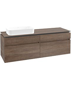Villeroy & Boch Legato vanity unit B74800E1 160x55x50cm, Santana Oak