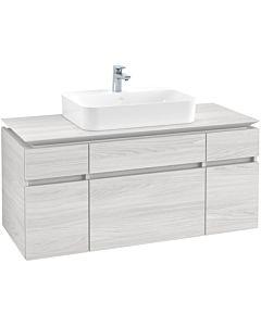 Villeroy & Boch Legato Waschtischunterschrank B75800E8 120x55x50cm, White Wood