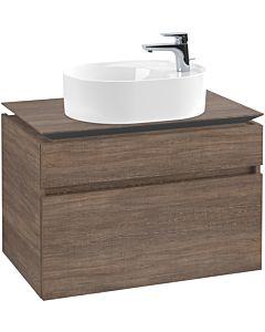 Villeroy & Boch Legato Waschtischunterschrank B77000E1 80x55x50cm, Santana Oak