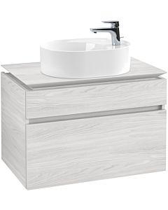 Villeroy & Boch Legato Waschtischunterschrank B77000E8 80x55x50cm, White Wood