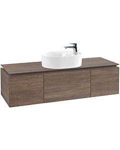 Villeroy & Boch Legato Waschtischunterschrank B77500E1 140x38x50cm, Santana Oak
