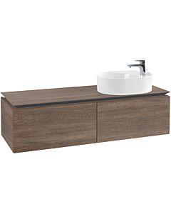 Villeroy & Boch Legato Villeroy & Boch vasque B77900E1 140x38x50cm, Santana Oak