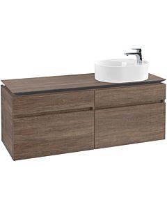 Villeroy & Boch Legato vanity unit B78000E1 140x55x50cm, Santana Oak