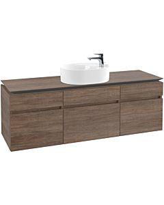 Villeroy & Boch Legato Waschtischunterschrank B78400E1 160x55x50cm, Santana Oak