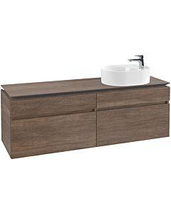 Villeroy & Boch Legato Waschtischunterschrank B78800E1 160x55x50cm, Santana Oak