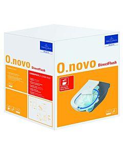 Villeroy & Boch O.Novo WC Combi Pack 5660HR01 weiss, DirectFlush WC mit WC-Sitz