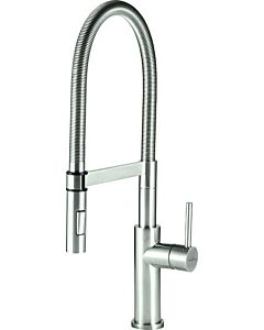 Villeroy & Boch robinet de cuisine 926500LC 6,5 l / min, le jet de dérivation / douche, solide en acier inoxydable