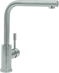 Villeroy & Boch kitchen mixer 966801LE 14 l / min, flexible connection hoses, polished stainless steel