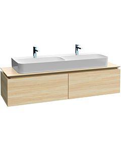 Legato Villeroy und Boch vasque B73500RH 160x38x50cm, centre de vanité, chêne Kansas
