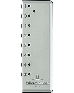 Villeroy und Boch télécommande Finion G9990200 4x1x11.5cm, avec support