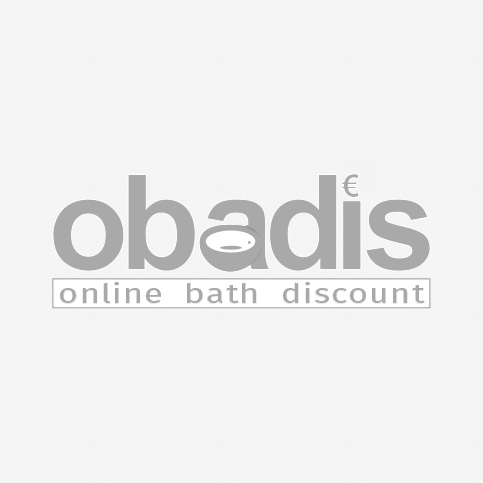 Keramag Acanto bath 554007011 white, 180x80cm, drain and overflow in the middle