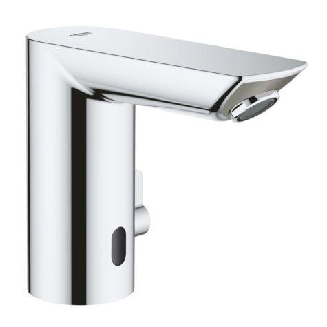 Grohe Bau Cosmopolitan E chromé lavabo infrarouge 36451000 chromé , avec mélange, chromé température, pile au lithium 6 V
