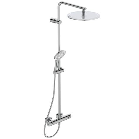 Ideal Standard Idealrain Shower System Evo A6984AA with thermostatic shower mixer Ceratherm 100
