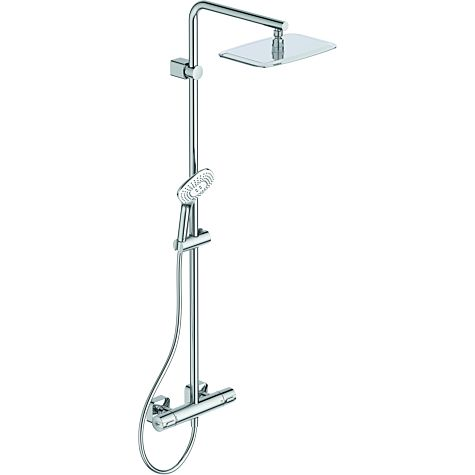 Ideal Standard Système de douche Idealrain-Evo A6986AA, thermostatique douche Ceratherm 100