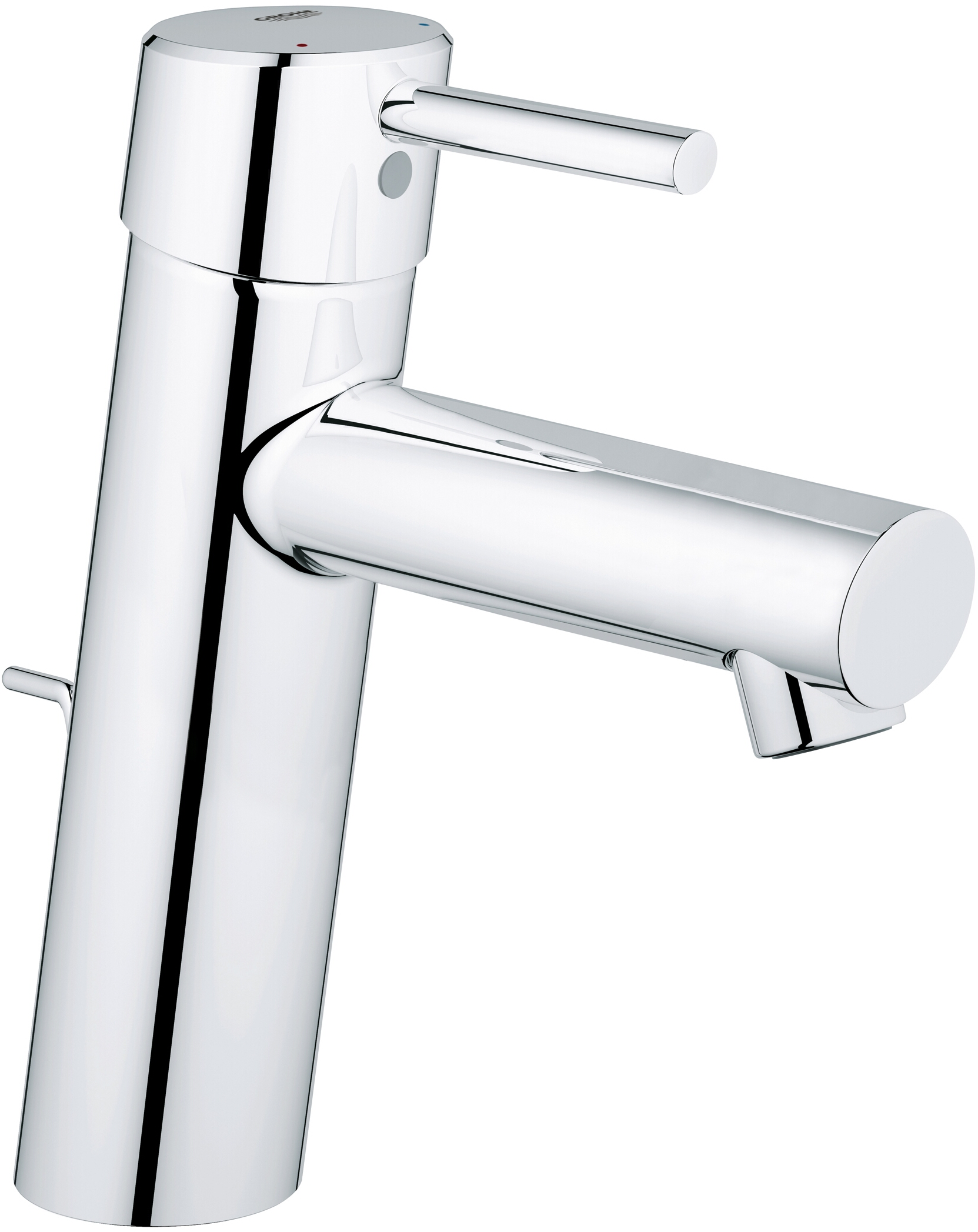Grohe Concetto Faucet 23450001 Chrome Medium High With Grohe Concetto M Size