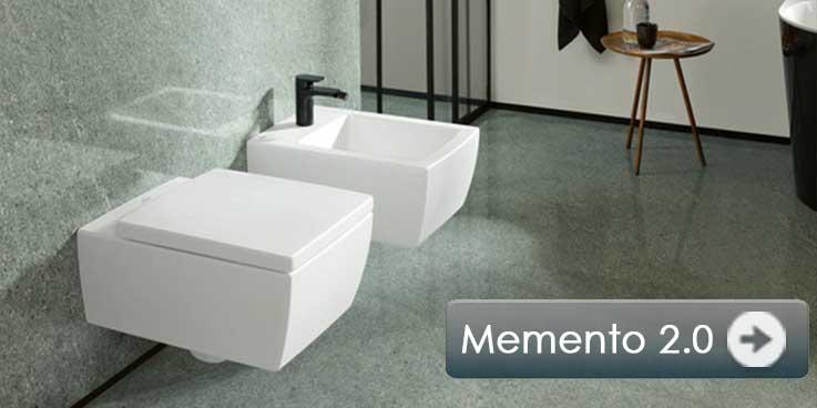 New: Villeroy & Boch Memento 2.0 ceramics in 6 colors.