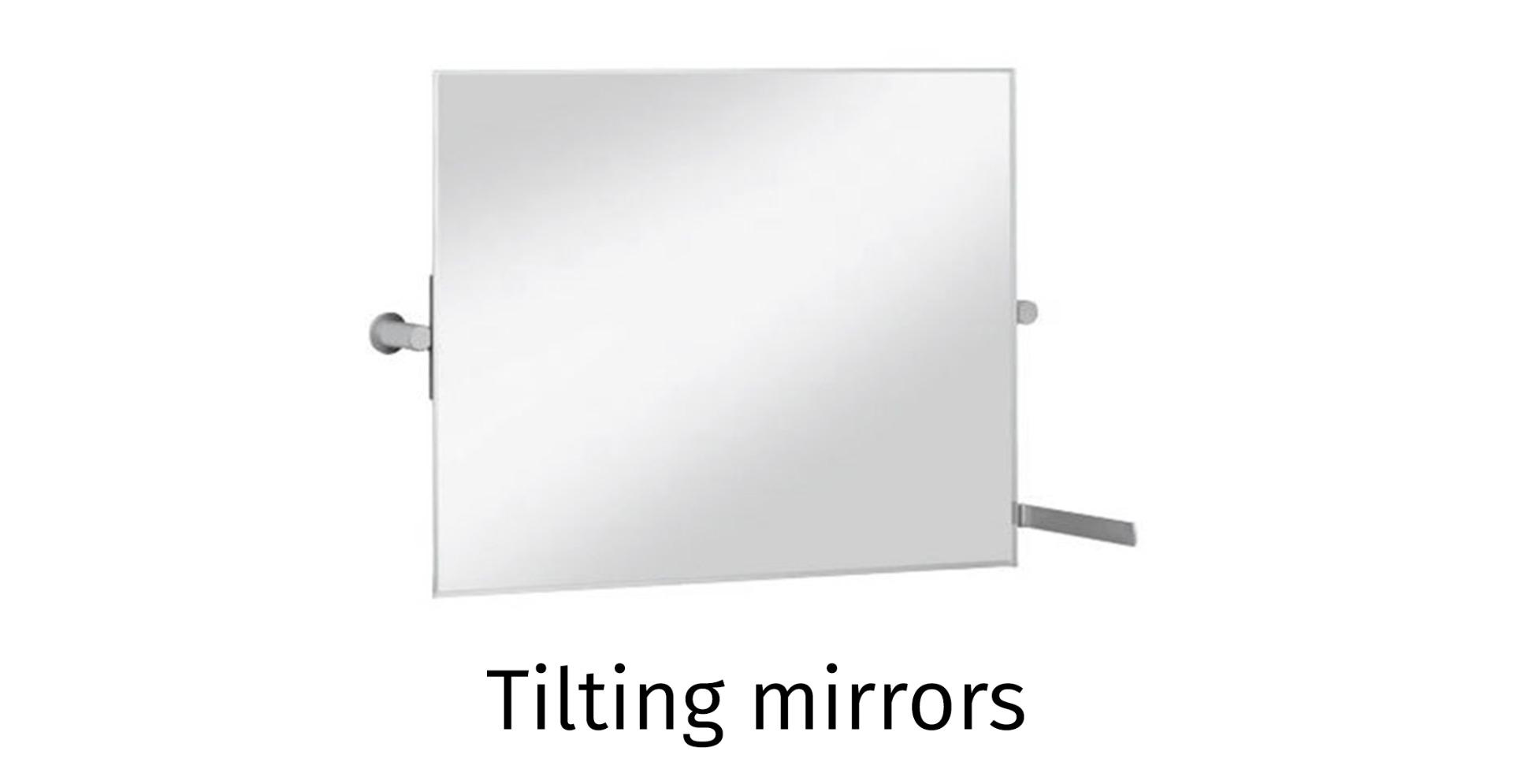 Tilting mirrors