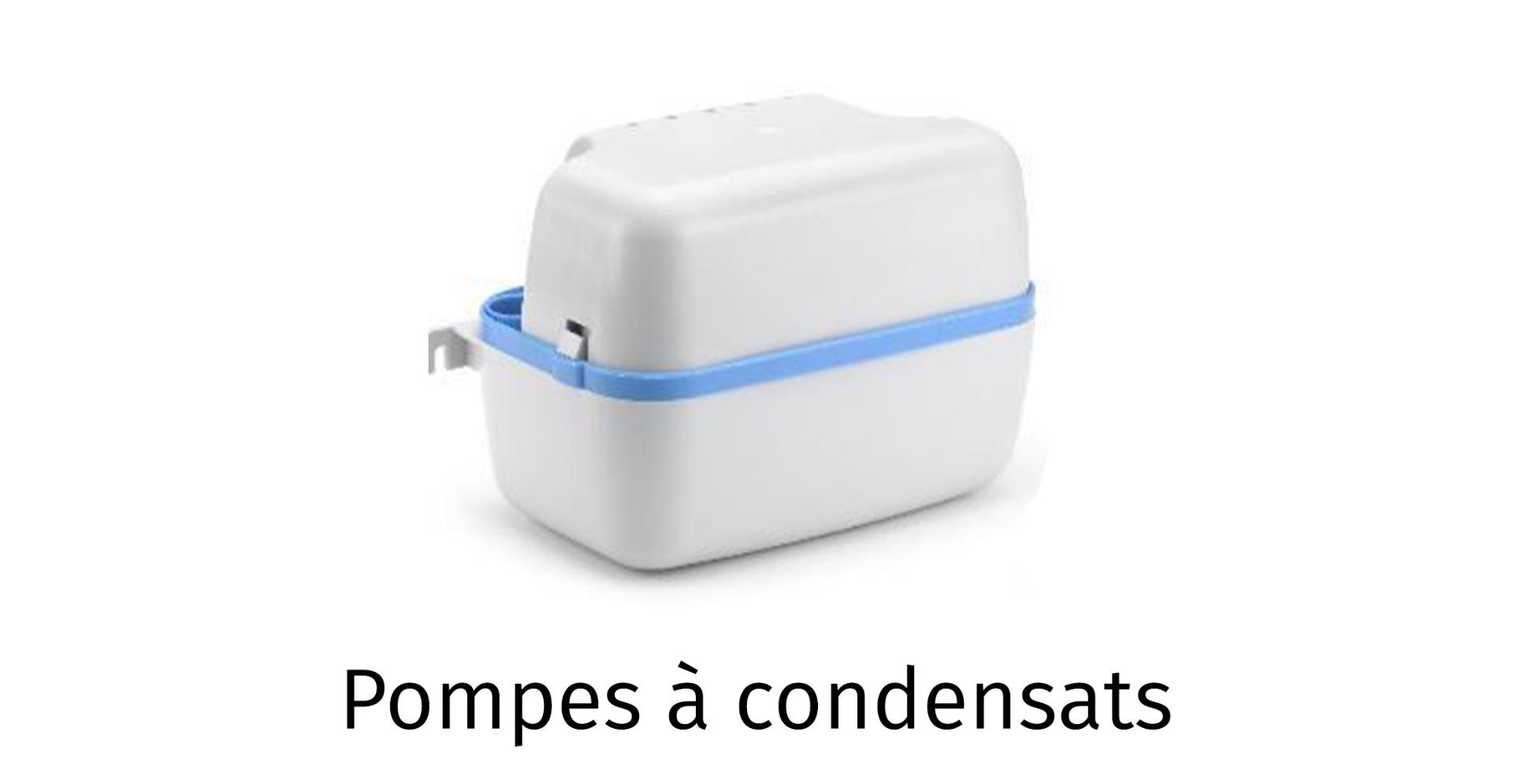 Pompes à condensats