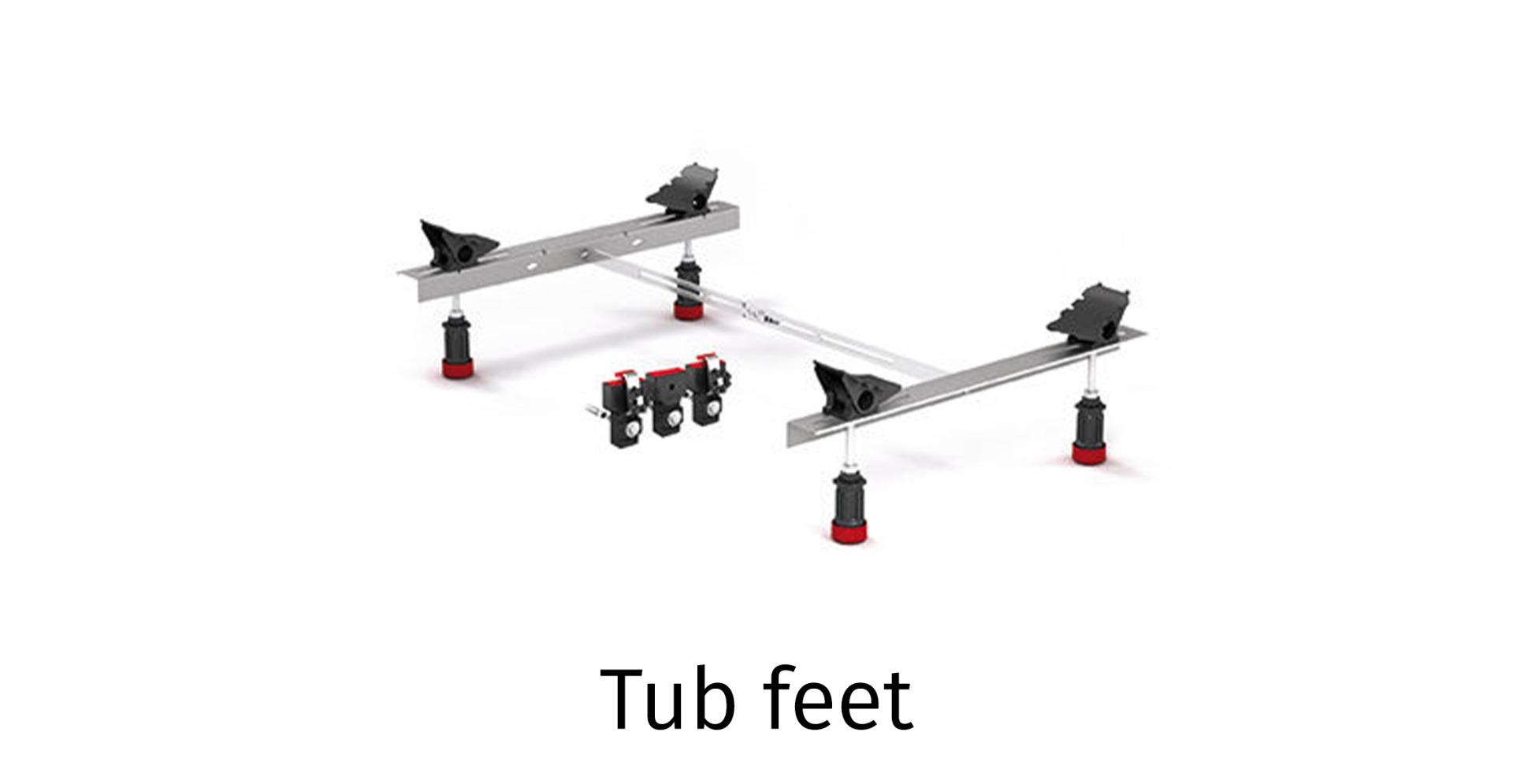 Tub feet