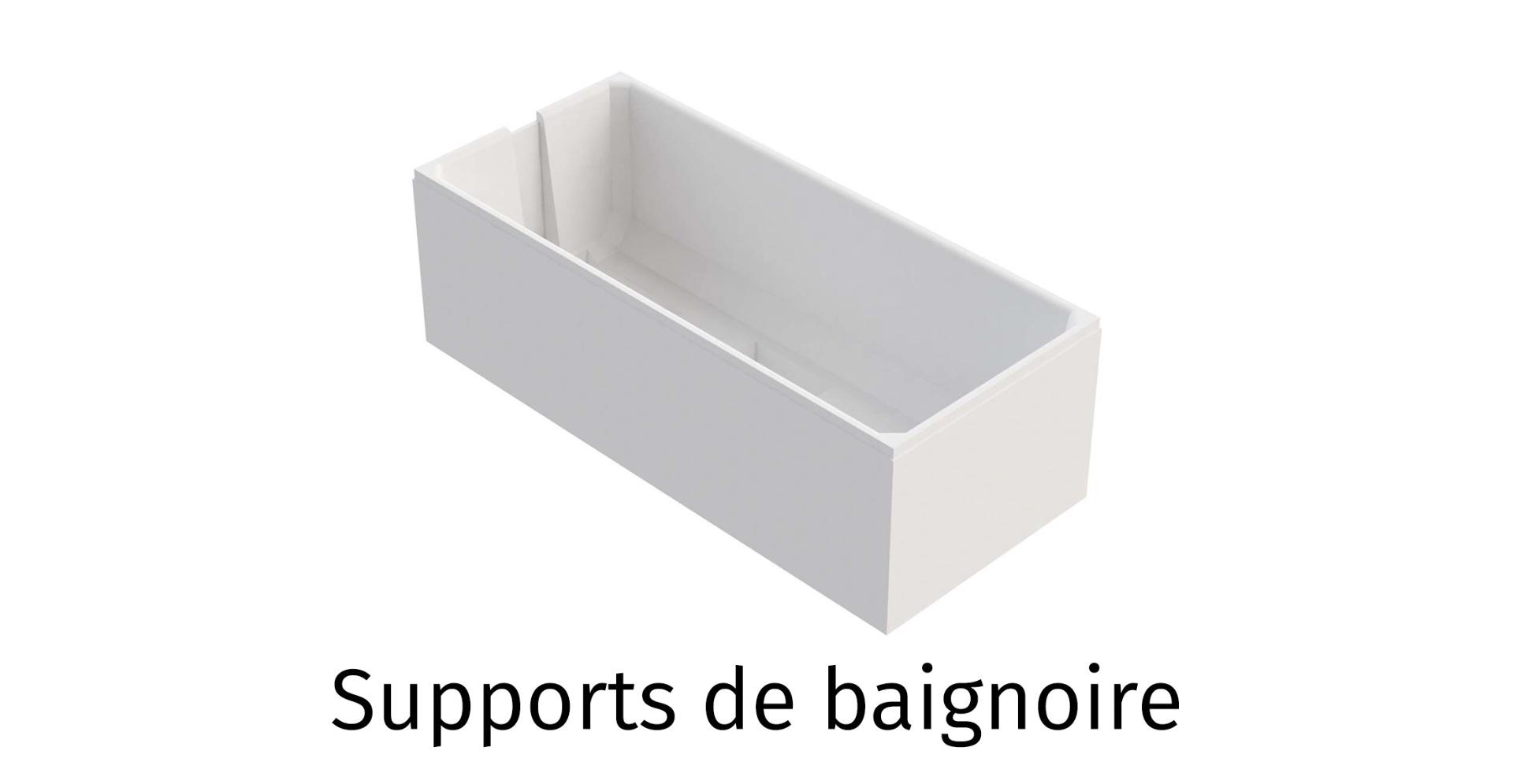 Supports de baignoire